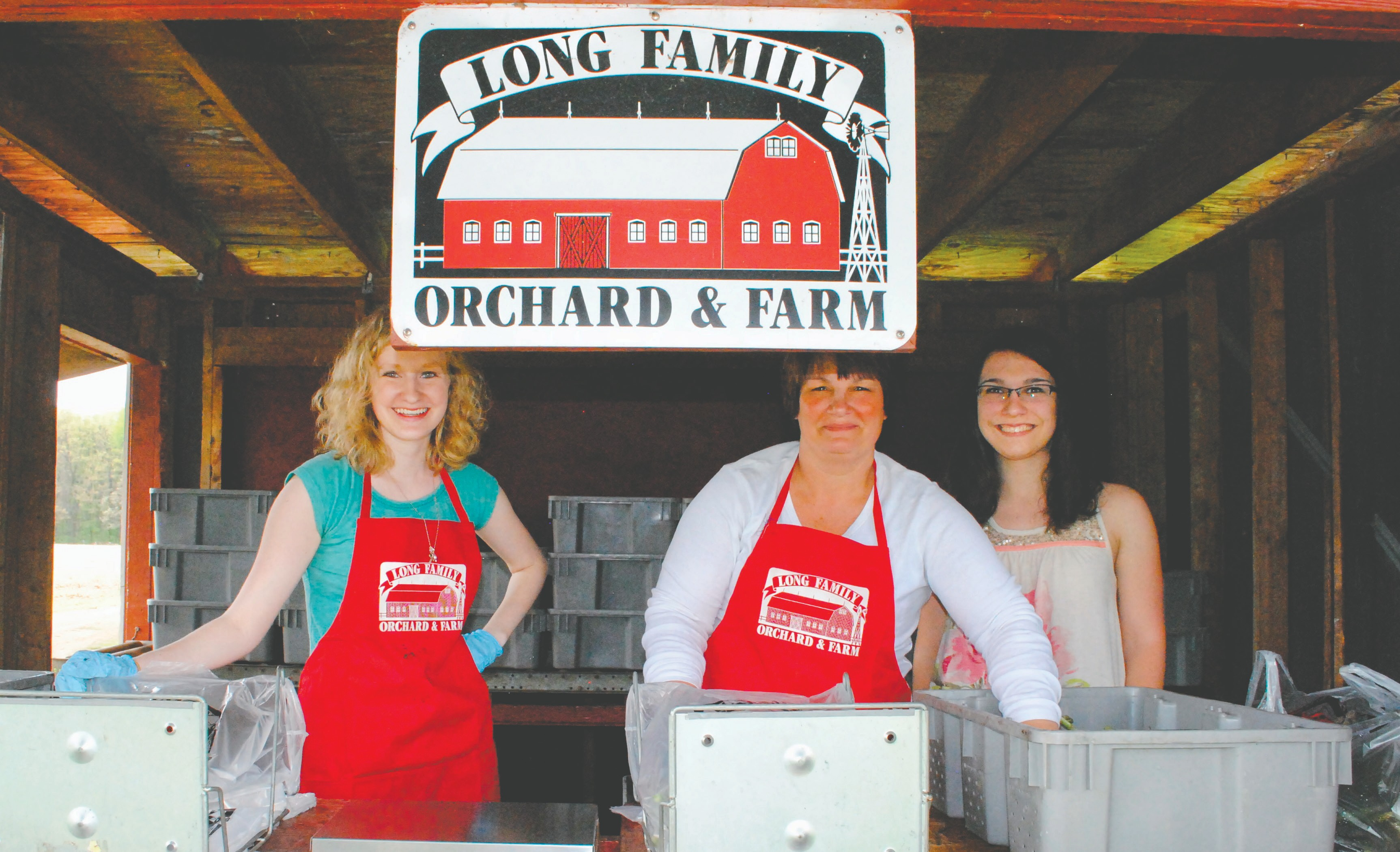 Long Family Orchard And Farm Now Open Offering Asparagus And More The Spinal Column