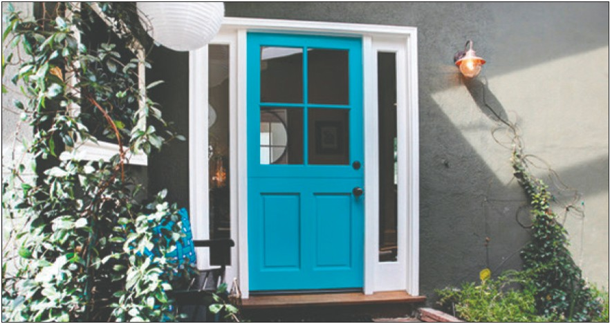 Hot New Home Entry Door Colors The Spinal Column