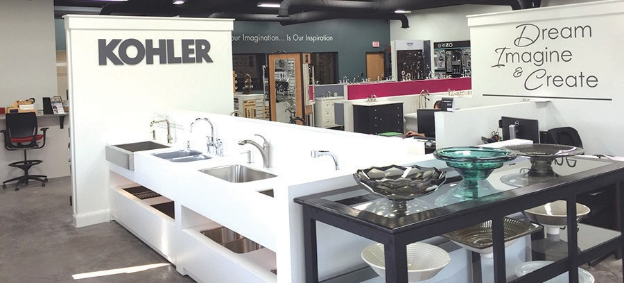 Infusion Showroom partners with Kohler | The Spinal Column